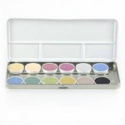 ÖkoNORM - luksus vandfarver - 12 farver