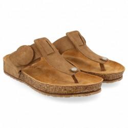 Haflinger - sandaler - Bio Corinna - sand