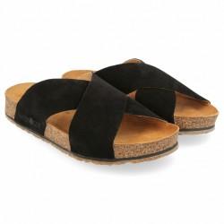 Haflinger - sandaler - Bio Mio - sort