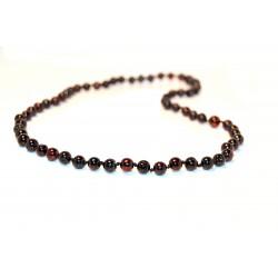 Rav halskæde - voksen - cherry