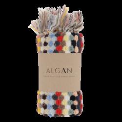 Algan - Ahududu gæstehåndklæde - 45x100 cm. - multi