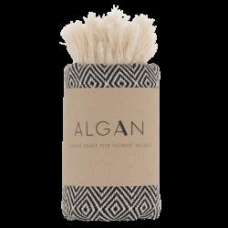 Algan - Elmas gæstehåndklæde - 65x100 cm. - black