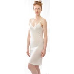 Alkena - underkjole/natkjole - økologisk silke - hvid
