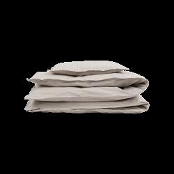 Studio Feder - sengesæt - voksenstørrelser - Beige Pin