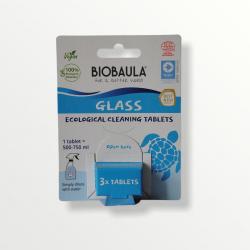 BioBaula - økologisk glasrens - 3 tabletter