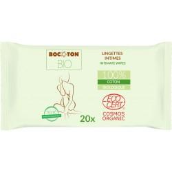 Bocoton Bio - økologiske intimservietter - 20 stk.
