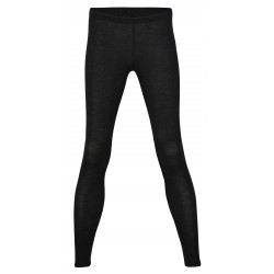 Engel - dame leggings - uld & silke - sort