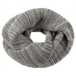 DISANA | tube halstørklæde | antracit/grå melange
