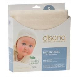DISANA - økologiske stofbleer - 5 stk.