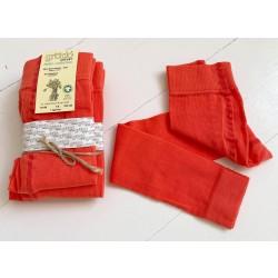 Grödo - leggings - GOTS bomuld - 3-12 år - orange