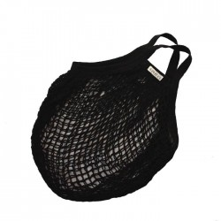 Bo Weevil - stringbag - granny´s - hæklet net - sort