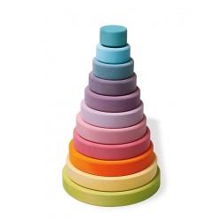 Grimms - stort stabeltårn - pastelfarver
