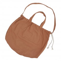 Haps Nordic - stor taske - shopping bag - terracotta