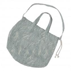 Haps Nordic - stor taske - shopping bag - ocean wave