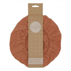 Haps Nordic - 3-pak cotton covers - terracotta
