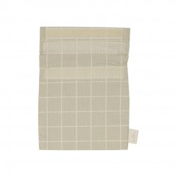 Haps Nordic - sandwich bag - oystergrey check