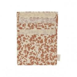 Haps Nordic - sandwich bag - warm terracotta terrazzo