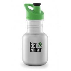 Klean Kanteen - 355 ml. drikkedunk - børstet stål - sportscap