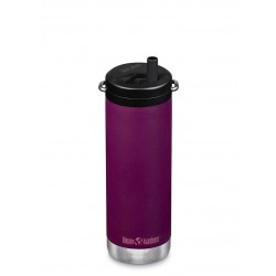 Klean Kanteen - TKWIDE- termoflaske 473 ml. - twist cap - purple potion