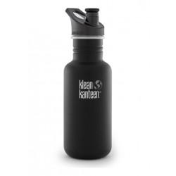 Klean Kanteen - 532 ml. drikkedunk - Shale Black - sportscap