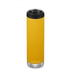 Klean Kanteen - TKWIDE- termoflaske 592 ml. - café cap - marigold