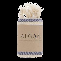 Algan - Kavun gæstehåndklæde - 65x100 cm. - marine
