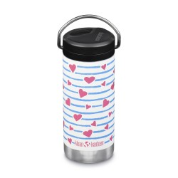 Klean Kanteen - TKWIDE- termokop 355 ml. - twist cap - heart stripe