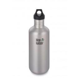 Klean Kanteen - 1182 ml. - børstet stål - skruelåg