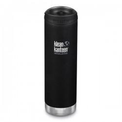 Klean Kanteen - TKWIDE- termoflaske 591 ml. - café cap - shale black