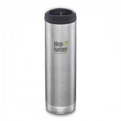 Klean Kanteen - TKWIDE- termoflaske 592 ml. - café cap - stål