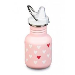 Klean Kanteen - 355 ml. - millenial hearts - sippy cap