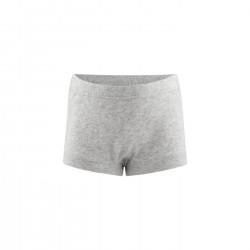 Living Crafts - pants piger - GOTS bomuld - grå melange