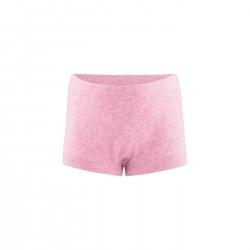 Living Crafts - pants - GOTS bomuld - rosa melange