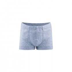 Living Crafts - pants drenge - GOTS bomuld - blå melange