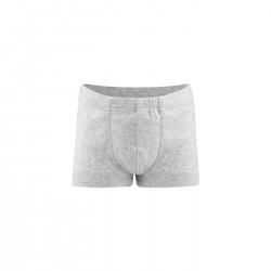 Living Crafts - pants drenge - GOTS bomuld - grå melange