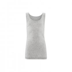 Living Crafts - unisex undertrøje - GOTS bomuld - grå melange