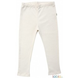Iobio - legging - uld & silke GOTS - natur