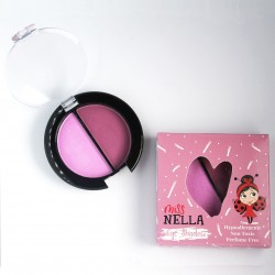 Miss Nella - giftfrit make-up - øjenskygge - pink skies