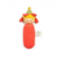 Nanchen - rangle - blomsterbarn - rød