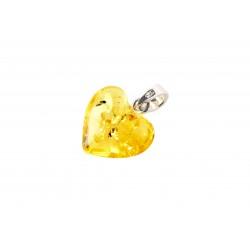 rav vedhæng - hjerte - lemon