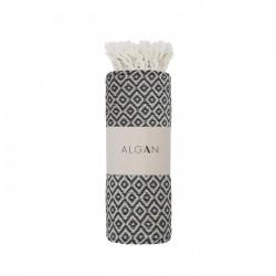 Algan - Sumak badelagen - 100x180 cm. - black