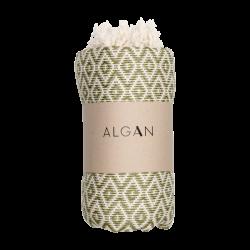 Algan - Sumak badelagen - 100x180 cm. - olive
