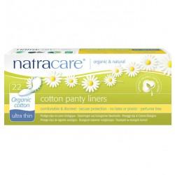 Natracare - trusseindlæg - 22 stk. - 'ultra thin - økologisk bomuld