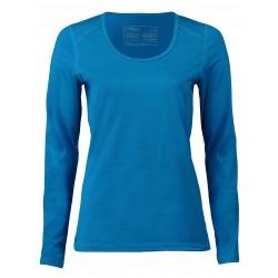Engel Sports - dame - langærmet t-shirt - regular fit - sky